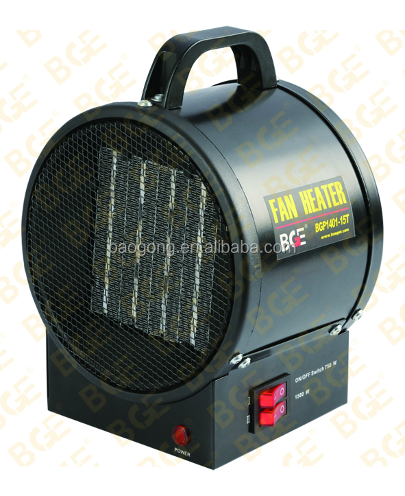 1500W portable PTC fan forced air heater