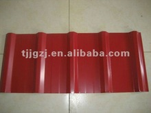 Prepainted galvanized profiled trapezoid steel roofing tile/constrcution material