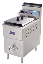 Auto Gas fryer with tap, Single or Double