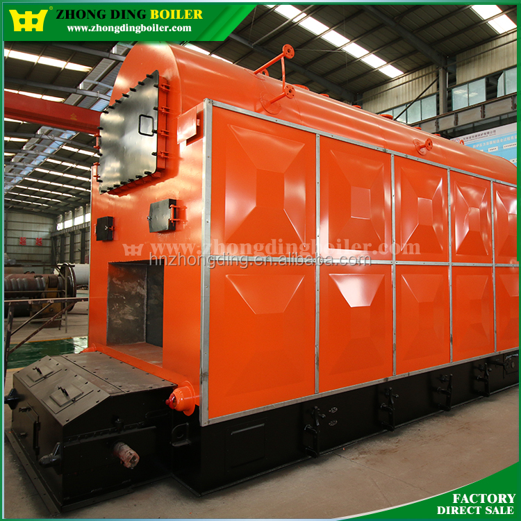 A Class Boiler Manufacturer 3-Pass Industrial Biomass Wood Pellet Fired Hot Water Boiler Heating, House Water Boiler