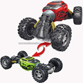 Remote control 4wd off road vehicle transformed stunt car