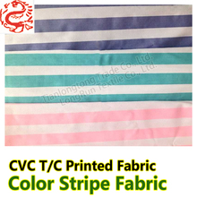 red white and blue striped bedding fabric For making hospital bed sheets pillow case