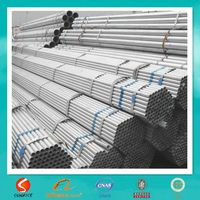 thin wall galvanized steel pipe for water supply