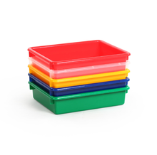 3 inch goodlooking toy classification storage box with different colors desk table organizer
