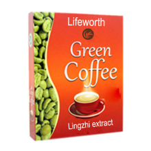 Lifeworth ganoderma slimming green coffee OEM