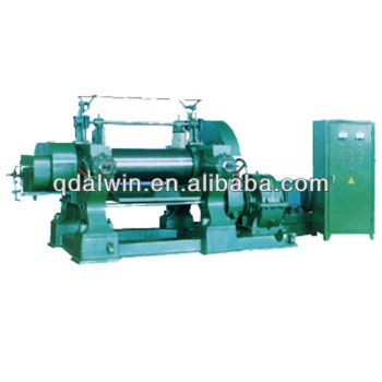 Bearing type mixing mill with hardened tooth surface reducer