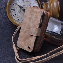 Mirror Wallet Phone Case For iPhone 5 5S SE Multi-function Pouch PU Leather Hard Back Cover With Card Holder Shell CORNMI