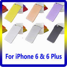 2016 New Hot Item 0.3mm Super Slim PP Phone Case 100% Fit for iPhone 7 Case
