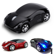 Ferrari Car Shaped 2.4g wireless optical USB Mouse