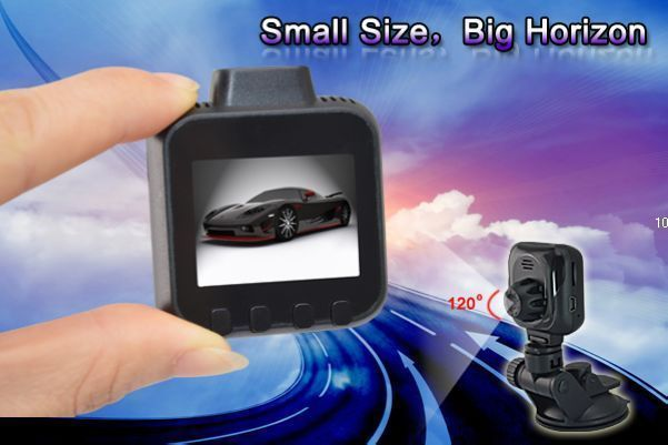 Factory Smallest 1.5LTPS 120deg Lens G-Sensor Night vision vcar vedio recorder with infra-red night vision