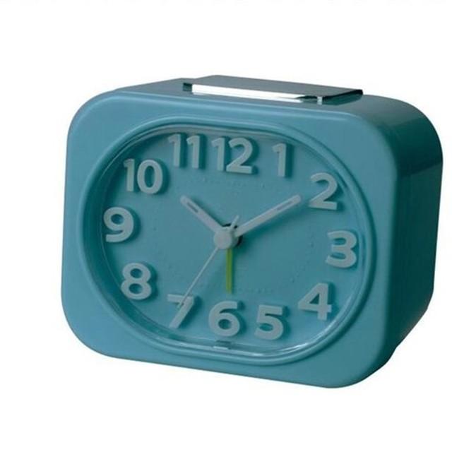 3D kids alarm clock 3D numbers desktop alarm clock 3D face clock