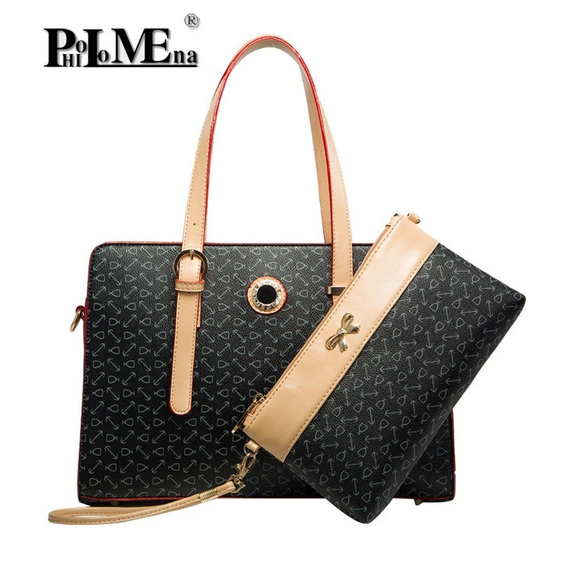 top 10 bags China Supplier Western Style PU Leather Shoulder Bag Women Tote Hand Bag handbag collection