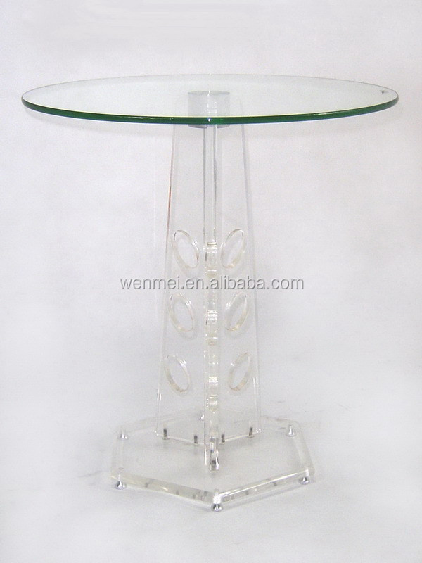 Hot Sale Acrylic Furniture , Acrylic Dinning Table,Acrylic Round Table