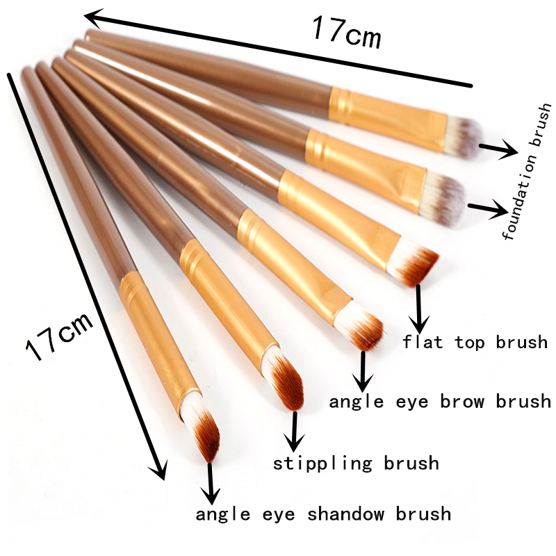2017 New Arrivals 20pcs professional make up eye brush set cosmetic tools