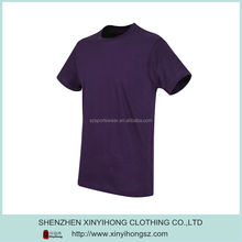 Blank Color Organic Cotton Eco Friendly Plain Loose Boys T Shirt