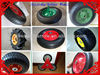 Pneumatic and solid rubber wheel SR1006 for wheelbarrow trolley