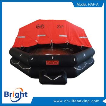 New design throw-over life raft with low price