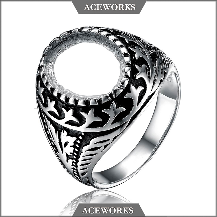 RN6633 Aceworks 2016 Top Fashion 925 silver ring bases for DIY