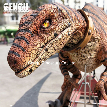Sales promotion : 4m long animatronic dinosaur costume ( For Free )