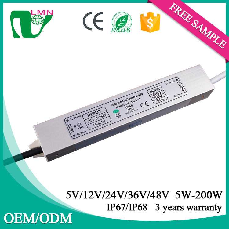 5V 5000ma led driver constant voltage led output enclosed switch power supply