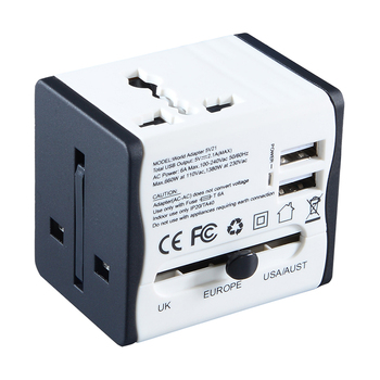 Hot sale multi plug socket all in one travel charger plug converter adapter