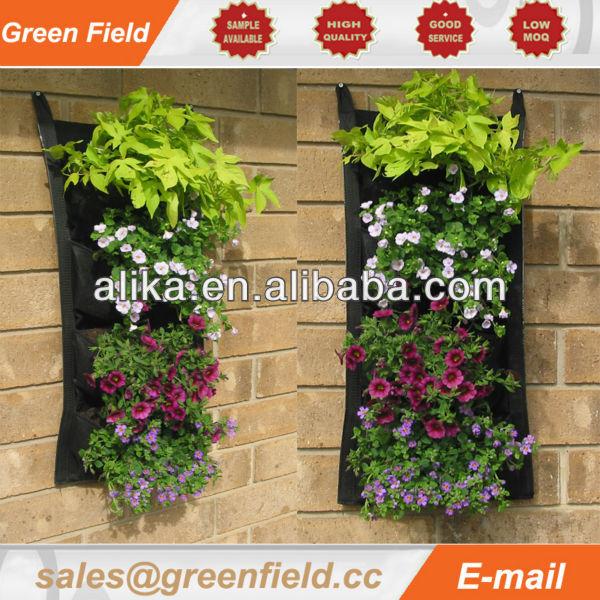 Verticale tuin systeem bloempotten en plantenbakken for Verticale tuin systeem