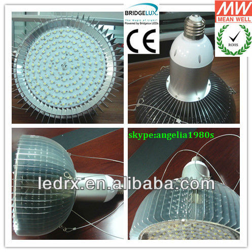high brightness led farm house light E40 50W halogen high pressure sodium light metal halid 200W replacement CE ROHS IES files