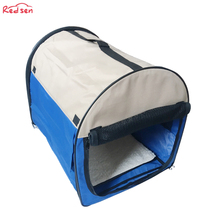 2018 new style high-capaticy 600Doxford waterproof handle blue pet bag