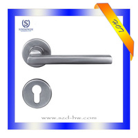 Multifunctional entrance handle door double sided door handle lock stainless steel glass door handle