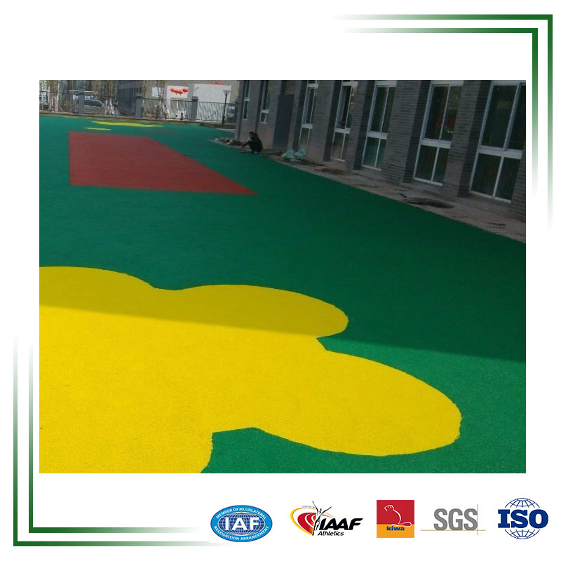 Eco-friendly 100 % Safety EPDM Rubber Granulate Flooring Roll
