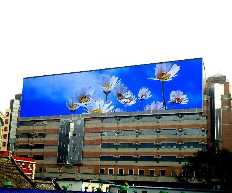Cheap price!!!P8 outdoor full color led display screen big billboard led advertising videi wall with selectable cabinet