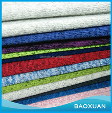 China Supplier Wholesale New Design Fancy Coarse Fleece Knitted Textile Fabric For Hoodies Garment Blanket Clothes