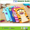 3D cartoon pattern sollicon tablet case for iPad mini