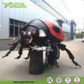 Artificial Giant Animatronic Ladybug Insect