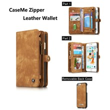 Retro style Stand Flip colorful leather wallet case for iphone 6 plus