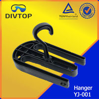 Diving hanger for neoprene wetsuit