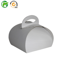Good quality cheap price bubble cake boxes with handle