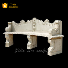 Professional Outdoor Stone Long Bench In Low price(YL-S035)