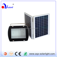 108 led double solar panel flood light with high lumens for indoor and outdoor