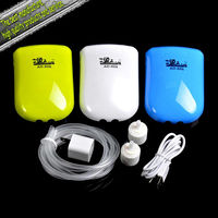 2014 Free shipping Mute lithium battery ac-dc portable outdoor oxygen filling pump 3/color oxygen pump rechargeable
