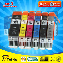 PGI-270 / CLI 271 Ink Cartridge Compatible for Canon Use in PIXMA MG5720/ MG5721/MG5722/MG6820/MG6821/MG6822/MG7720