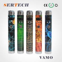2014 LCD Screen Display E Cig V6 Dry Herb Vaporizer Vamo With Huge Vapor