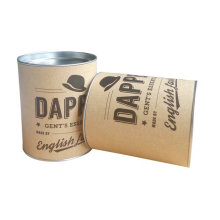 Custom Made Cylinder Tube Packing Iron Paper Can for Foods Milk powder Packaging Gift Box Food grade