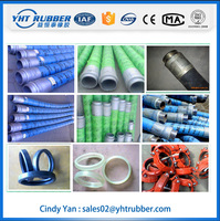 concrete canvas braided rubber hose for mixer truck