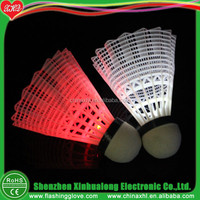 LED Flashing Shuttle Cock Flashing Shuttlecock Supplier
