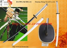 cosplay cartoon & anime black sword one piece roronoa zoro Tachi steel samurai katana