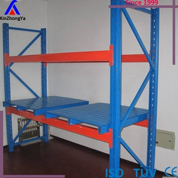 2 levels warehouse storage heavy duty pallet rack (XZY Racking)