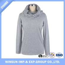 2016 New Designed Medium Length Long Sleeved Knitwear For Women