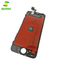 SYART Factory lcd display touch screen digitizer panel assembly replacement screen for iphone 5