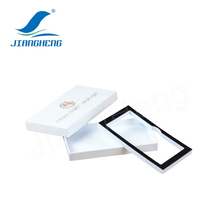 Custom paper iphone packaging box with your size and logo